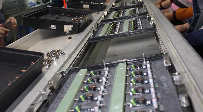 車充工厂-插件生产车间