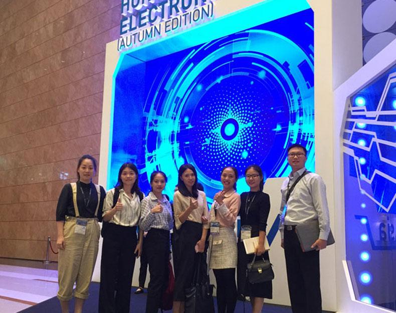 2018年秋季香港电子展会感谢信-车充厂家首诺信