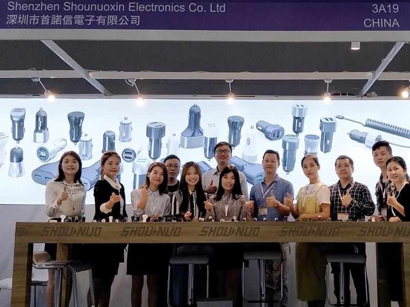 2019年春季首诺信车充厂家香港展会回顾暨感谢信
