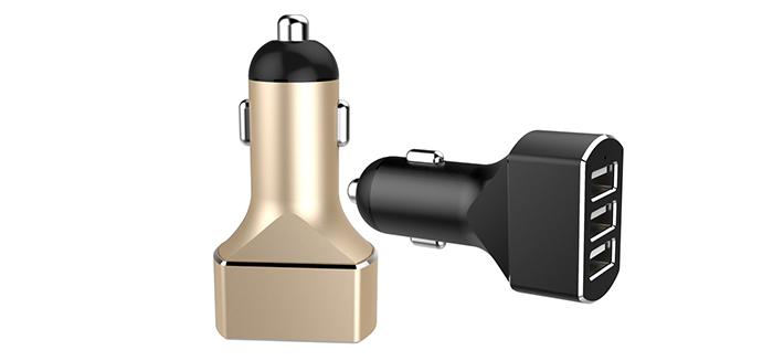 3USB车载手机充电器SN-178-7.2A