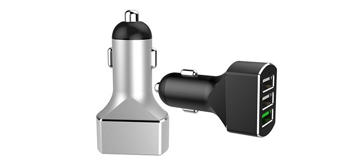 三口快充车载充电器SN-178-1Q2U