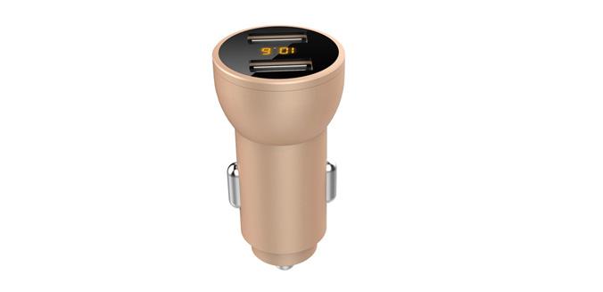 多功能数显车载充电器SN-308-4.8A