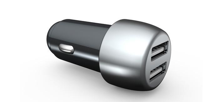 车载充电器   USB车充 PD+QC3.0